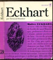 Maitre Eckhart - Collection Philiosophes De Tous Les Temps N°59 - Couverture - Format classique
