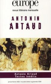 Antonin Artaud - Intérieur - Format classique