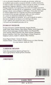Antonin Artaud - 4ème de couverture - Format classique
