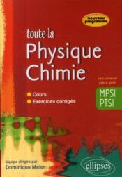 Sciences physiques MPSI ; cours et exercices corrigés - Couverture - Format classique