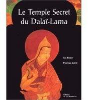 Le Temple Secret Du Dalai Lama - Couverture - Format classique
