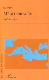 Mediterranee ; Defis Et Enjeux - Intérieur - Format classique