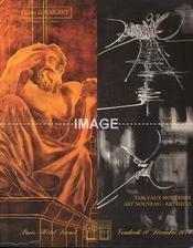TABLEAUX MODERNES ET CONTEMPORAINS. ART NOUVEAU - ART DECO. [ARBUS. BARBEDIENNE. MARQUET. MATHIEU. YVARAL. BREKER. GALLE. METHEY. VAUTRIN. MULLER. LELEU. DUNAND. MAJORELLE. DUFET. OLD. PANTON. SOGNOT. ETC..]. 10/12/2004. (Poids de 382 grammes) - Intérieur - Format classique
