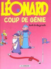 Léonard t.8 ; coup de génie - Intérieur - Format classique