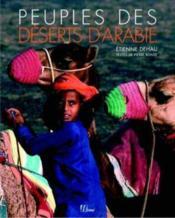 Peuples des deserts d'arabie - Couverture - Format classique