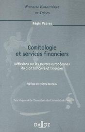 Comitologie et services financiers - Couverture - Format classique