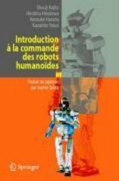 Introduction à la commande des robots humanoïdes - Couverture - Format classique