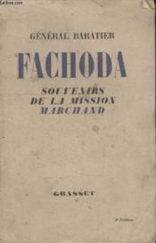 Fachoda. Souvenirs De La Mission Marchand. - Couverture - Format classique