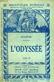 L'Odyssee Tome 3. - Couverture - Format classique