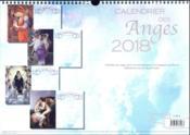 Calendrier des anges (édition 2018) - 4ème de couverture - Format classique