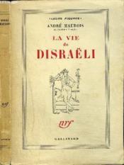 La Vie De Disraëli - Couverture - Format classique