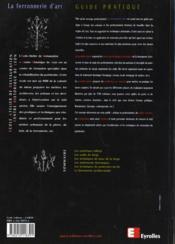 Ferronnerie D'Art - 4ème de couverture - Format classique