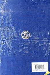 Choix d'écrits - 4ème de couverture - Format classique