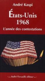 Etats-Unis 1968 ; l'année des contestations - Intérieur - Format classique