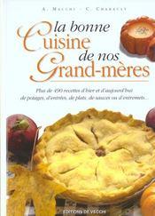 La bonne cuisine de nos grands-mères - Intérieur - Format classique