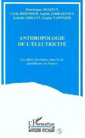 Anthropologie De L'Electricite - Intérieur - Format classique