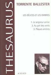 Les Delices Et Les Ombres - Intérieur - Format classique