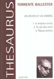Les Delices Et Les Ombres - Couverture - Format classique