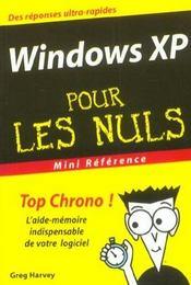 Windows Xp Pour Les Nuls - Intérieur - Format classique