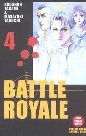 Battle royale t.4 - Intérieur - Format classique