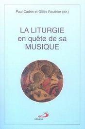 La liturgie en quête de sa musique - Intérieur - Format classique