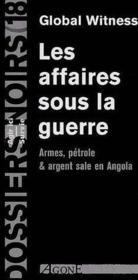 Affaires Sous La Guerre (Les) - Couverture - Format classique