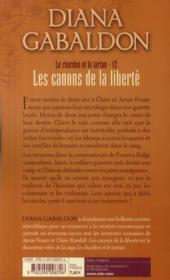 Le chardon et le tartan t.12 ; les canons de la liberté - 4ème de couverture - Format classique