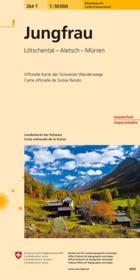 Jungfrau pédestre - Couverture - Format classique