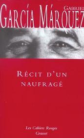 Recit D'Un Naufrage - Intérieur - Format classique