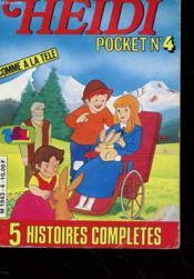 Heidi Pocket N°4 - 5 Histoires Completes - Couverture - Format classique