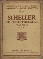Etudes Et Preludes Pour Piano - N°858 - Op.47 Livre 2 : 25 Etudes Pour Former Au Sentiment Du Rythme Et A L'Expression. - Couverture - Format classique