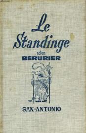 Le Standinge Selon Berurier - Couverture - Format classique