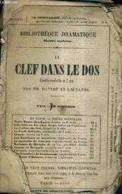 La Clef Dans Le Dos - Comedie Vaudeville En 1 Acte. - Couverture - Format classique