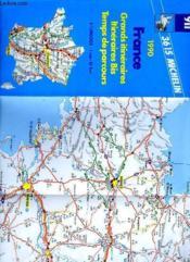 Grands itineraires 1/1 000 000 - Couverture - Format classique