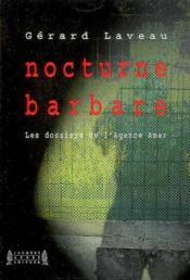 Nocturne barbare - Couverture - Format classique
