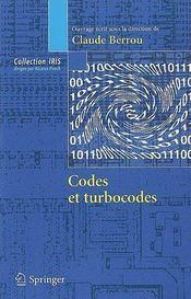Iris ; Codes Et Turbocodes - Couverture - Format classique