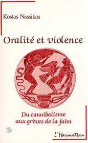 Oralite Et Violence - Intérieur - Format classique