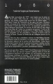1980 - 4ème de couverture - Format classique