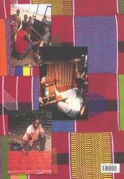 Afrique des textiles - 4ème de couverture - Format classique