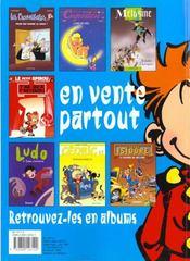 Spirou magazine ; spécial été 1999 - 4ème de couverture - Format classique