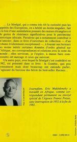 Le Senegal, La Senegambie T.2 - 4ème de couverture - Format classique