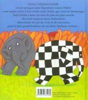 Elmer et tante zelda - 4ème de couverture - Format classique