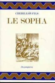 Le Sopha - Couverture - Format classique