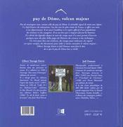 Puy De D Me, Volcan Majeur - 4ème de couverture - Format classique