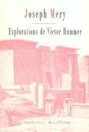 Explorations de victor hummer - Couverture - Format classique