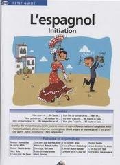 L'espagnol initiation - Couverture - Format classique