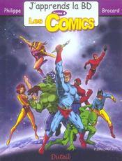 J'APPRENDS LA BD T.4 ; les comics - Intérieur - Format classique