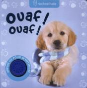 Ouaf ouaf ! - Couverture - Format classique