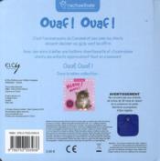 Ouaf ouaf ! - 4ème de couverture - Format classique