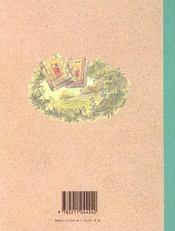 Petit Lapin Rouge - 4ème de couverture - Format classique